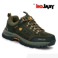 38.41$  Buy now - http://ali5eb.worldwells.pw/go.php?t=32776130981 - YEALON Hiking Shoes Waterproof Men Sports Sneakers Camel Shoes Men Outdoor Waterproof Trekking Shoes Suede Mountain Shoes Women