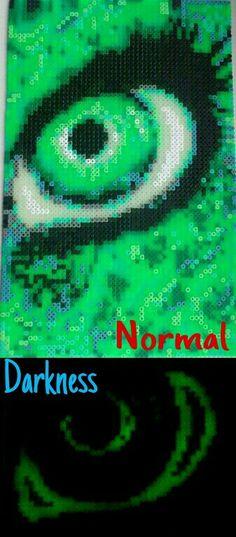 HAMA Perler Beads Eye