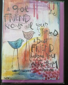 """Best Friends"" Greeting Card"