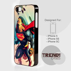 Superman Fly Action Vintage, iPhone 4/4S/4G Case, iPhone 5/5S/5C, Samsung galaxy S3/S4