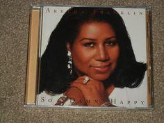 ARETHA FRANKLIN So Damn Happy (CD, Music, R&B, Soul, Female, Vocals, Arista)  #Soul