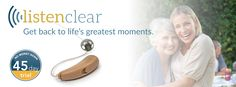 The ListenClear Pro lets you hear everything, wherever you are and whatever your doing. Call now for a 45 day FREE in-home trial. Free In, Hearing Aids, Trials, In This Moment, Let It Be, Life