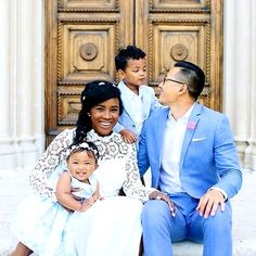 Photo Of Emese Doktor With Her Husband And Son - Family - Nigeria Interracial Family, Interracial Marriage, Interracial Wedding, Black And White Dating, Black Love, Black Men, Mixed Couples, Cute Couples, Cute Family