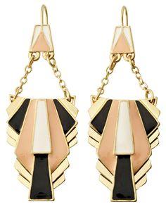 trend: art deco - deco earrings