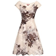 One of the latest styles this season, this bardot print dress is the ideal outfit for an ascot theme party or a casual wear during the day.  Fitted with high w…