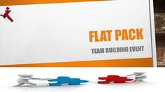 Watch this presentation and find how flatpack team building activity help you to do team work, careful planning, practice and achieve your set goals. Outdoor Team Building Activities, Team Building Events, Setting Goals, Teamwork, Presentation, Challenges, Learning, Watch, Clock