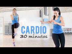 CARDIO 30 MINUTOS PARA ELIMINAR GRASA ABDOMINAL - YouTube