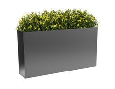 The Rectangle High Series Planters are built from durable and heavy gauge materials that are meant to last. Use these modern and industrial planters for your next commercial or residential project! Large Outdoor Planters, Hanging Plants Outdoor, Rectangular Planters, Contemporary Planters, Modern Planters, Trough Planters, Metal Planters, Commercial Planters, Fiberglass Planters