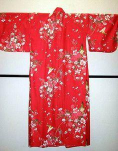 Kimono Hana rot