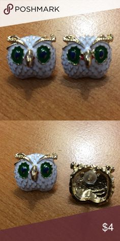 New Cute Owl Stud Earrings 💞 BUNDLE 3 OR MORE ITEMS AND SAVE 20% 💞 Any questions let me know. 587P Jewelry Earrings