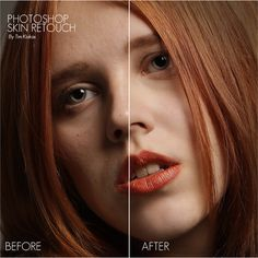 Tim Kiukas Photo: Skin Retouching Tutorial
