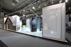 Trespa stand at BAU 2015