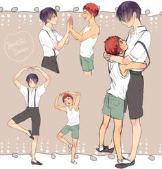 Kuroko's Basketball (Kuroko no Basuke) - Taiga Kagami x Tatsuya Himuro - KagaHimu