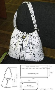 Pinned just for inspiration. This bag looks great!!!