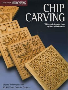 Chip Carving front cover available from Hofcraft