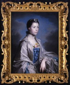 Joshua Reynolds - Portrait of Mr and Mrs John Patheriche of Alderminster 1718-1792 | 1stdibs.com