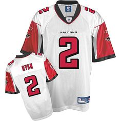 b28cd293c Reebok Atlanta Falcons Matt Ryan Replica White Jersey  2 US 39.99 ID 3034  Ryan