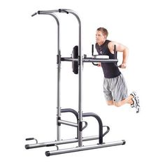 Power Tower Golds Gym Pull Push Chin Up Bar Exercise Dip Station Home Fitness | Sporting Goods, Fitness, Running & Yoga, Strength Training | eBay!