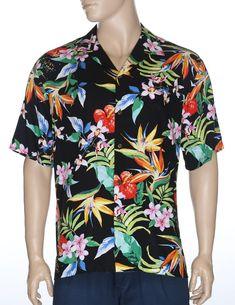 826e5abf97a Men s Passion Paradise Rayon Hawaiian Shirt  501R-PP