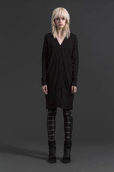 Long Cardi | Gunrunner Skinnies  #check #leather #cardi #companyofstrangers