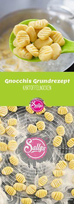 Gnocchis sind kleine Kartoffelnocken, welche gerne als Beilage, Suppeneinlage oder auch Hauptgericht serviert werden. Die Herstellung ist ganz einfach und man kann sie auch gut auf Vorrat herstellen und einfrieren.