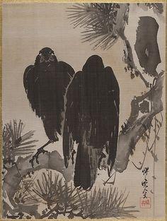 Kawanabe Kyôsai (1831–1889) - Meiji period (1868–1912) - 19th Century; Ink and Colour on Silk