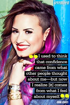 12 Most Inspiring Demi Lovato Quotes That'll Make You Feel Unstoppable!  - Seventeen.com