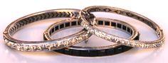 Bracciali argento e cristalli