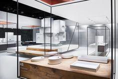 Alape Stand by Heine/Lenz/Zizka Projekte at ISH, Frankfurt – Germany » Retail Design Blog