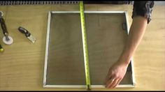 How To Make a Window Screen. Basic instructions on making basic window screens for your home or any other application. If you would like to learn more or to ...