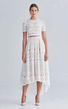 Vestidos de noiva cropped