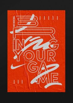 "Nike Basketball Ad - Paris-based Studio Jimbo creates ""impact and power"" with punchy poster design - Graphic Arts"