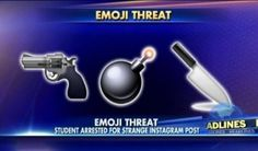 12-Yr-Old Faces Charges For 'Threatening' Emojis On Instagram Posts - Blooper…
