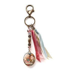 Take a look at this Gold 'Side by Side' Key Ring by Kelly Rae Roberts on #zulily today! Matching necklace.