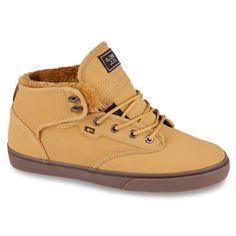 GLOBE Motley Mid tan fur chaussures fourrées 85,00 € #skate #skateboard #skateboarding #streetshop #skateshop @playskateshop