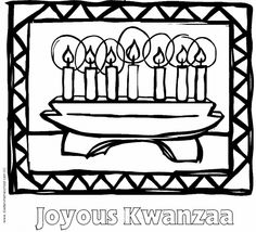 Free Kwanzaa Coloring Pages for Kids Winter Activities, Craft Activities, Kwanzaa 2016, Black Future, Monthly Themes, Daycare Crafts, Black History Month, Family Traditions, Coloring Pages For Kids