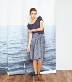 Twisted Front Skirt 03/2012 #128 – Sewing Patterns | BurdaStyle.com