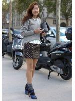 Streetstyle Parijs Fashion Week 2013