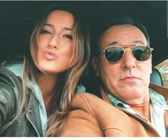 The Boss Bruce Bruce Springsteen The Boss E Street Band Father Daughter