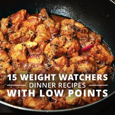 These dinner recipes for weight watchers are packed with flavor and have low points.