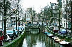 Amsterdam - Seen while browsing the web & looking for files. Places Around The World, Oh The Places You'll Go, Great Places, Places To Travel, Places To Visit, Around The Worlds, Beautiful World, Beautiful Places, Beautiful Inside And Out