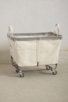 mobile canvas bin u0026 laundry goods storage unit on wheels rockett st george