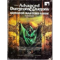 Got it... Advanced Dungeons and Dragons Dungeon Masters Guide