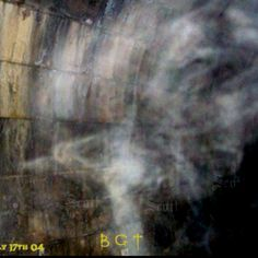 Picture from the Blue Ghost Tunnel in Thorold,Ontario. What do you see??