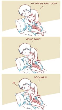Cute Couple Comics, Couples Comics, Cute Comics, Relationship Comics, Funny Relationship Memes, Romantic Anime Couples, Cute Anime Couples, Cute Anime Guys, Anime Love
