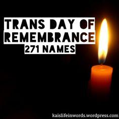 56 Best Transgender Day of Remembrance images in 2016