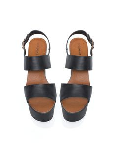 chunky-soled sandals