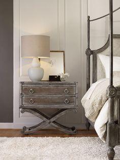 Hooker Furniture Bedroom True Vintage Nightstand 5701-90116