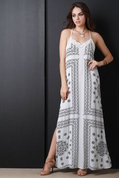maxi dress styles descriptions