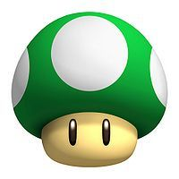 I have a thing for the 1up Mushroom. If I ever did get a tattoo, this would be incorporated.